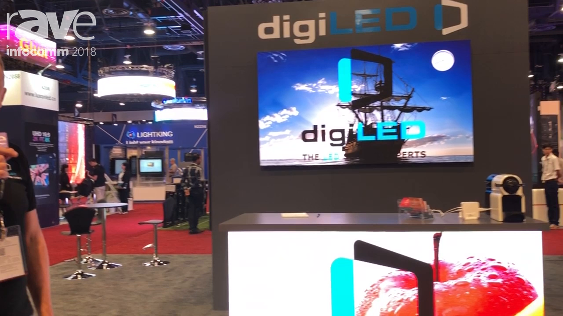 InfoComm 2018: digiLED Showcases digiTHIN Range of Permanent Install LED Products