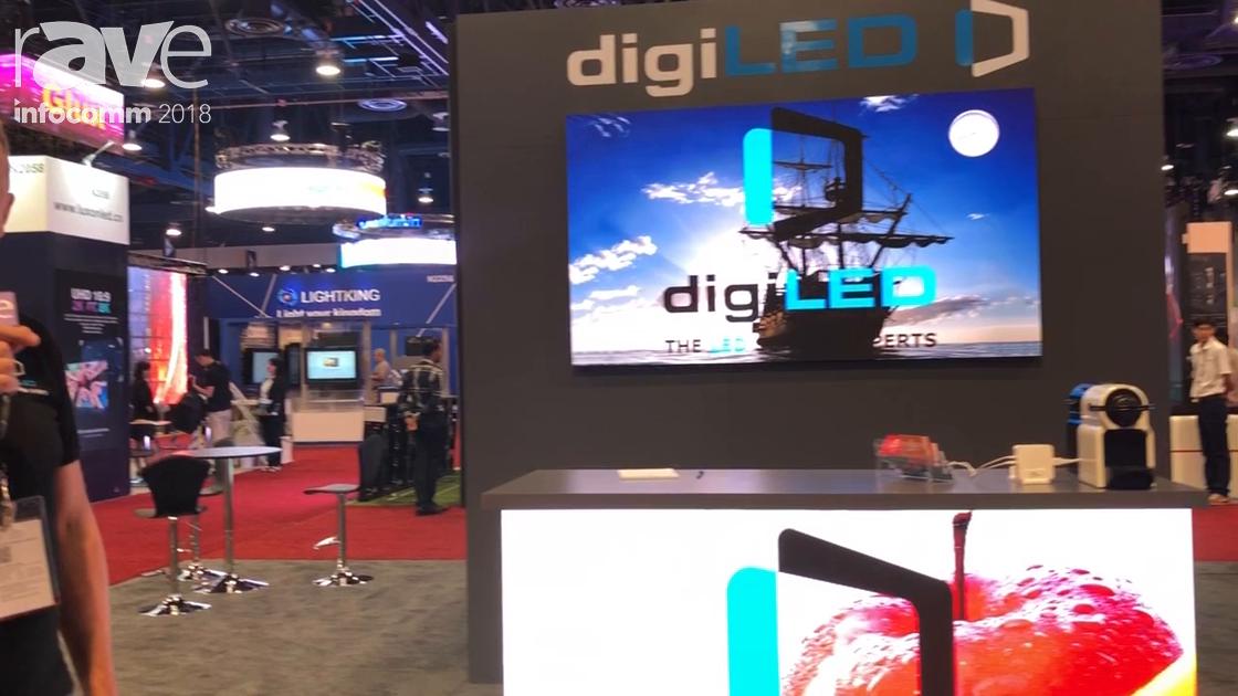 InfoComm 2018: digiLED Showcases digiTHIN Range of Permanent Install LED Products