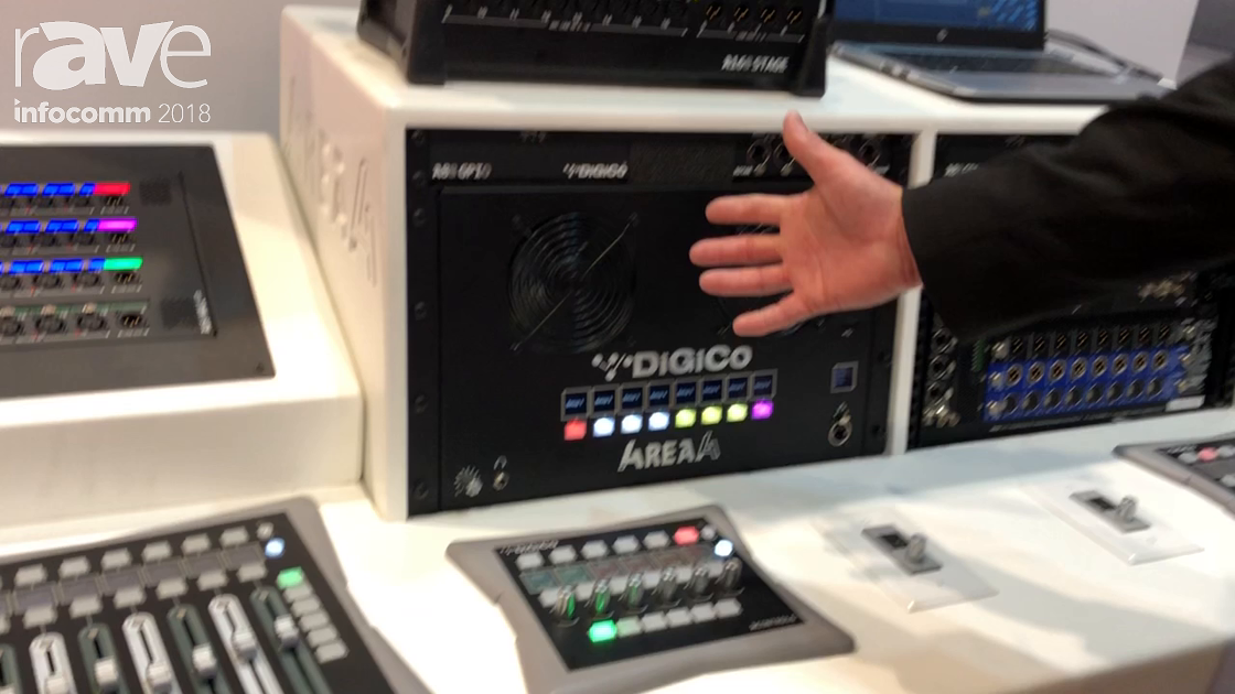 InfoComm 2018: DiGiCo Highlights 4REA4 System for Managing, Mixing and Routing Audio
