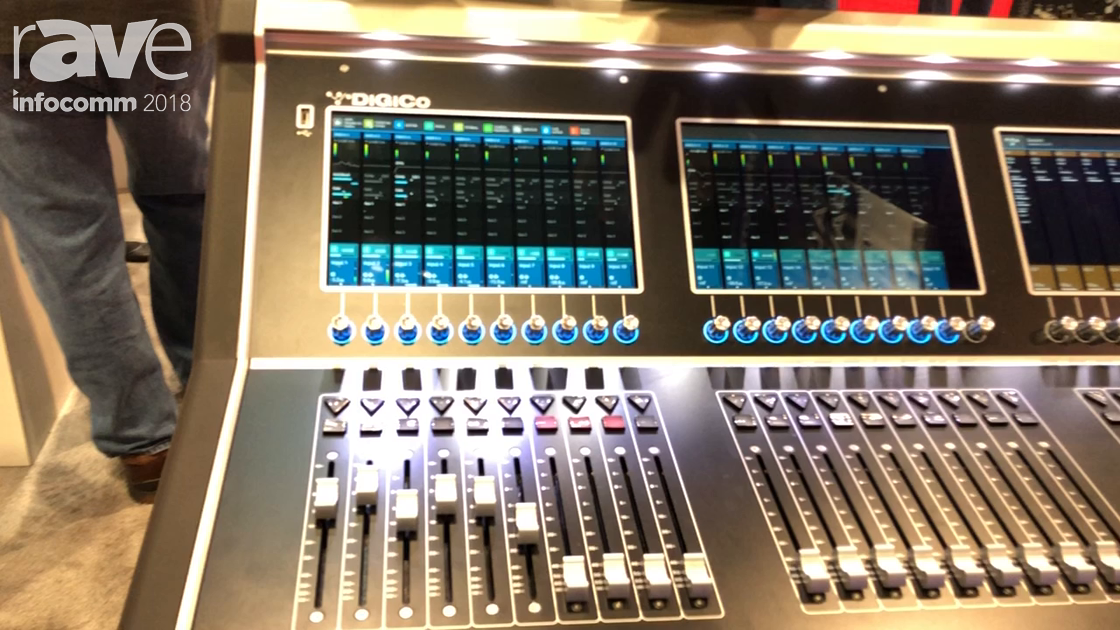 InfoComm 2018: DiGiCo Shows S21,S31 Mixing Consoles for Live Sound, Broadcast & Theater Applications