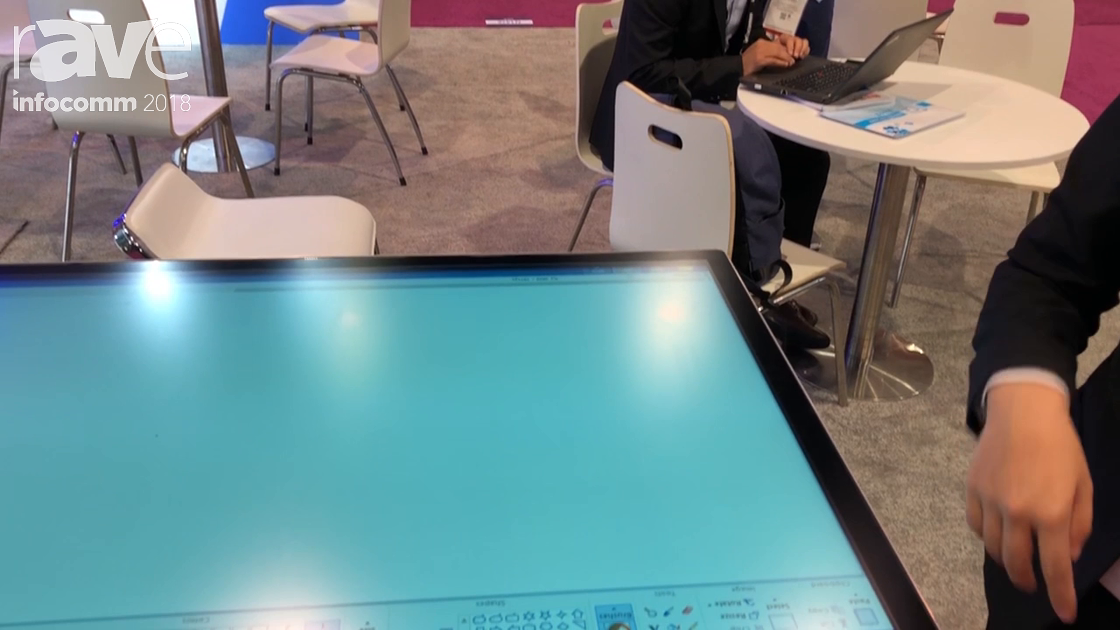 InfoComm 2018: TSD Features Its 55″ 4K PCAP Touch Table With 10 Touch Points