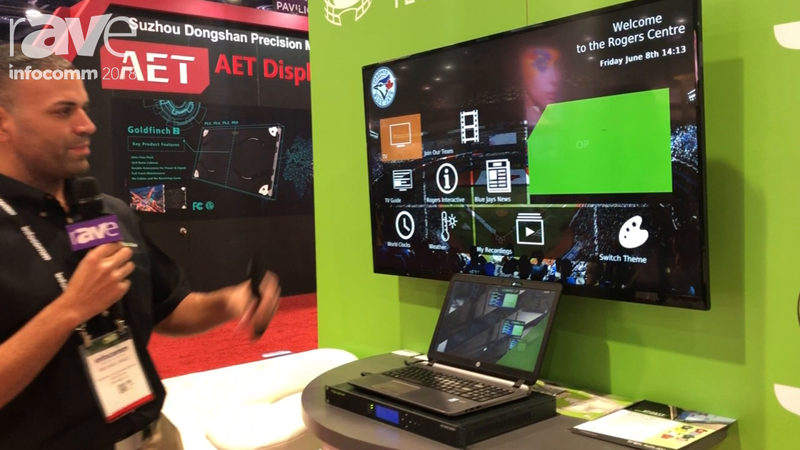 InfoComm 2018:  Tripleplay Features IPTV Platform With Ability for Custom End User Experience