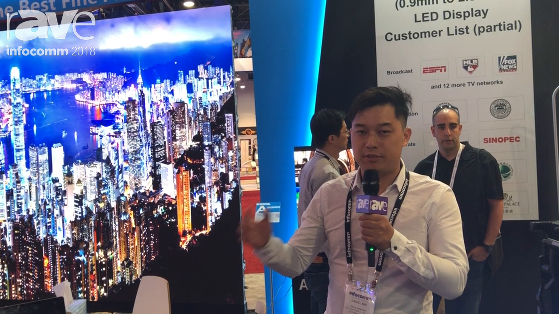 InfoComm 2018: COLEDER Announces E1.9 EDGE Modular LED Tiles