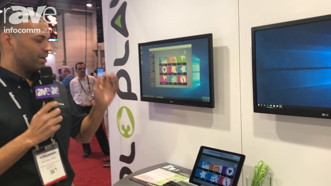 InfoComm 2018: Tripleplay Talks About Desktop Portal for Content Management