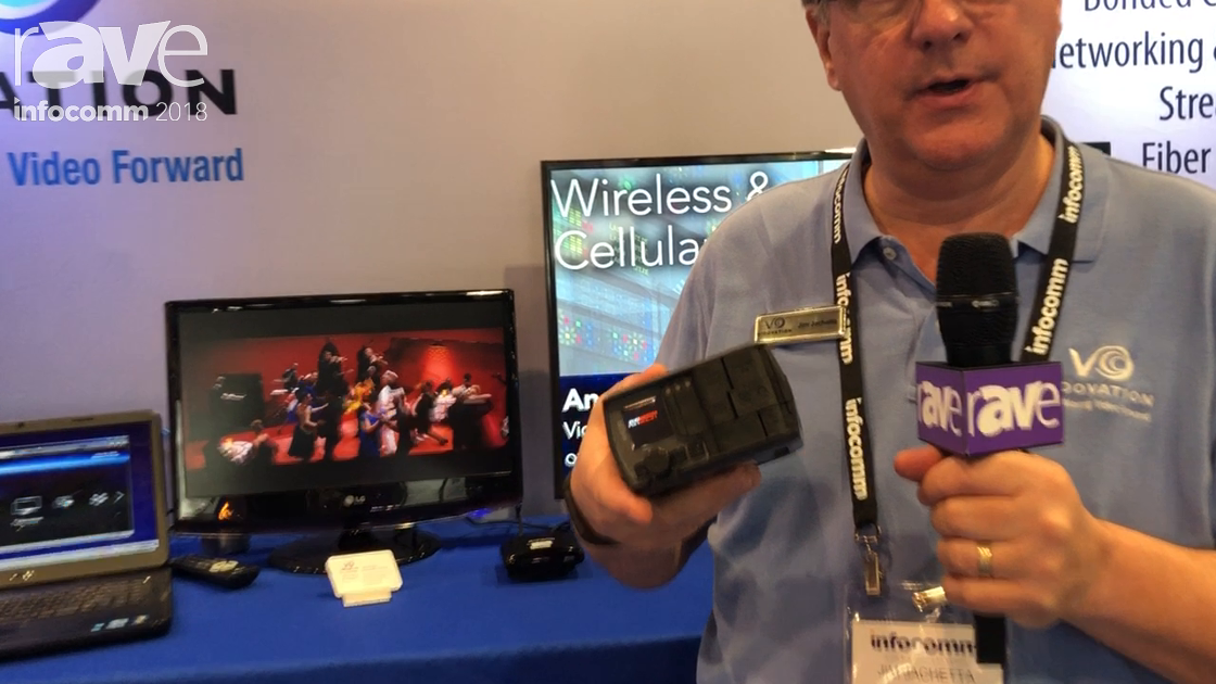 InfoComm 2018: VidOvation Features AVIWEST AIR320 Ultra Compact Bonded Cellular Video Stream