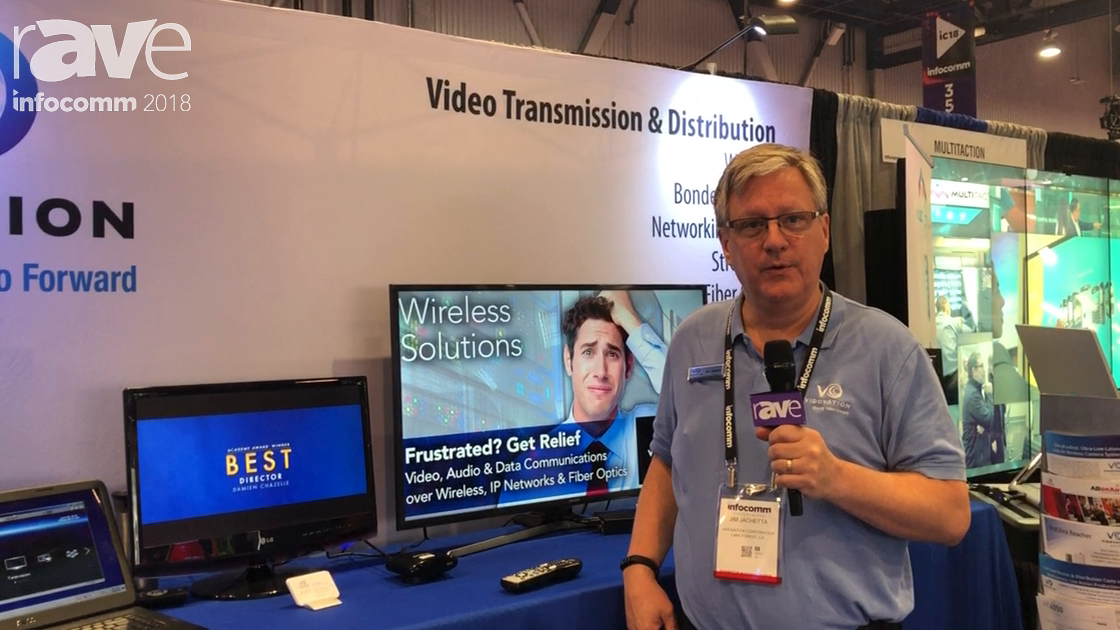 InfoComm 2018: VidOvation Features Enterprize IPTV And Fiber Optic Communications System