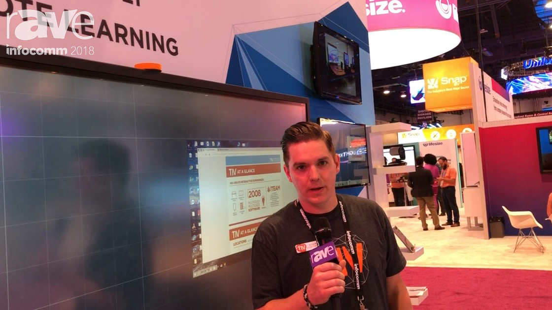 InfoComm 2018: T1V Demonstrates ThinkHub Connect for Classroom Applications