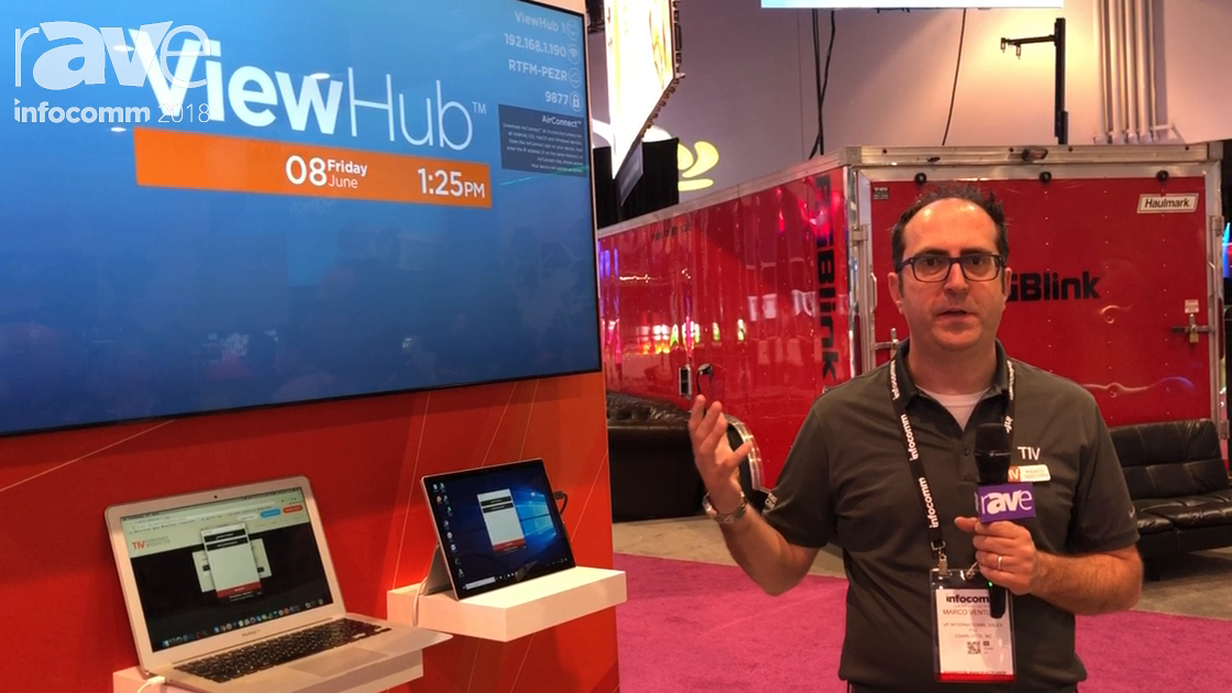 InfoComm 2018: T1V Shows Off ViewHub BYOD Device With Ability For Multiple Device Connections