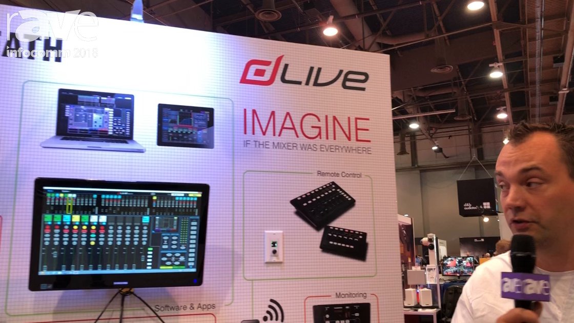 InfoComm 2018: Allen & Heath Features dLIVE DM Zero and DM Mix Rack Engines, Other Install Solutions