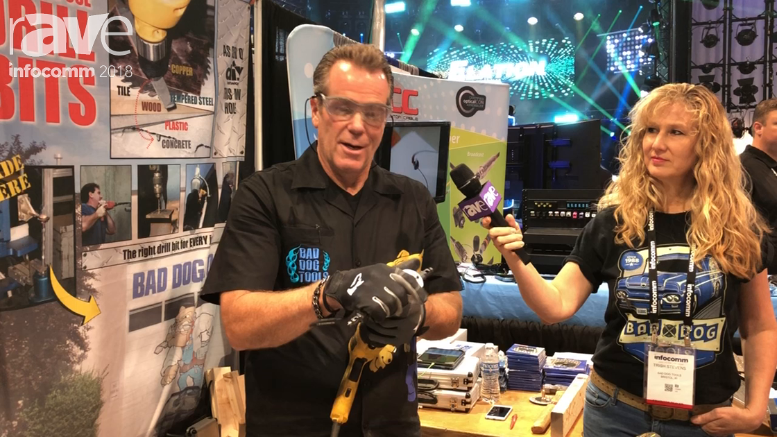 "InfoComm 2018: Bad Dog Tools Discusses ""Bad Dog Biter"" Handheld Nibbler"