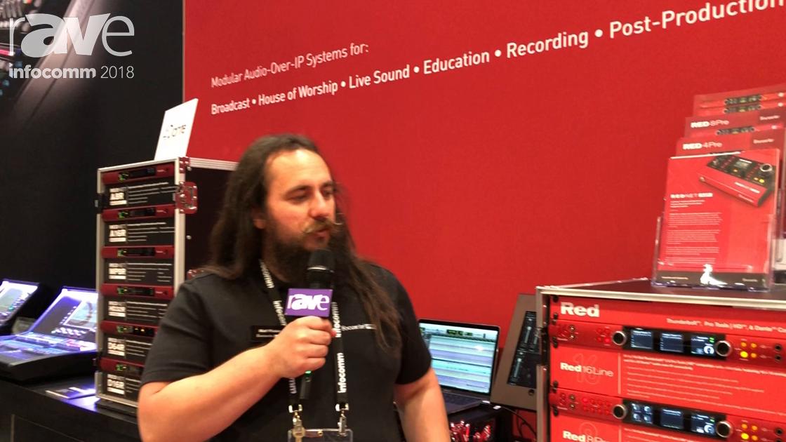InfoComm 2018: Focusrite Discusses Red16 Line of Audio Interface Solutions
