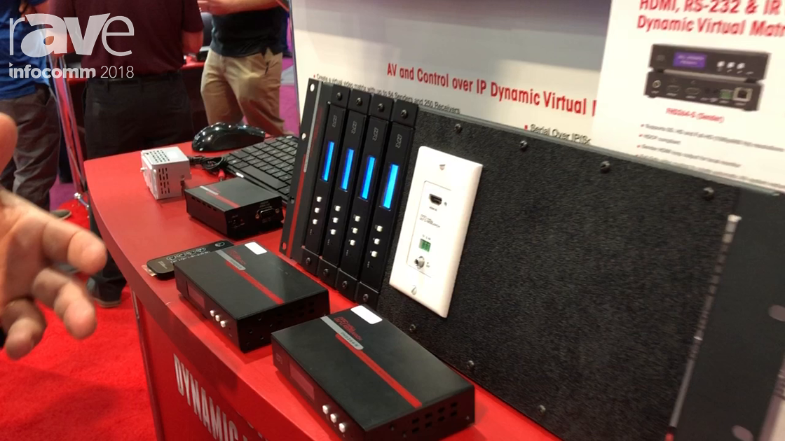 InfoComm 2018: Hall Research Showcases the FHD264 Low Cost HDMI and Control Over IP Product