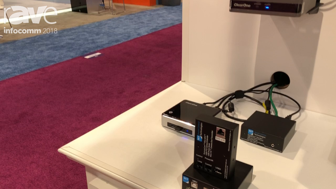 InfoComm 2018: Sound Control Technologies' RCU RemoteCam USB Kit That Supports USB Cameras for Power