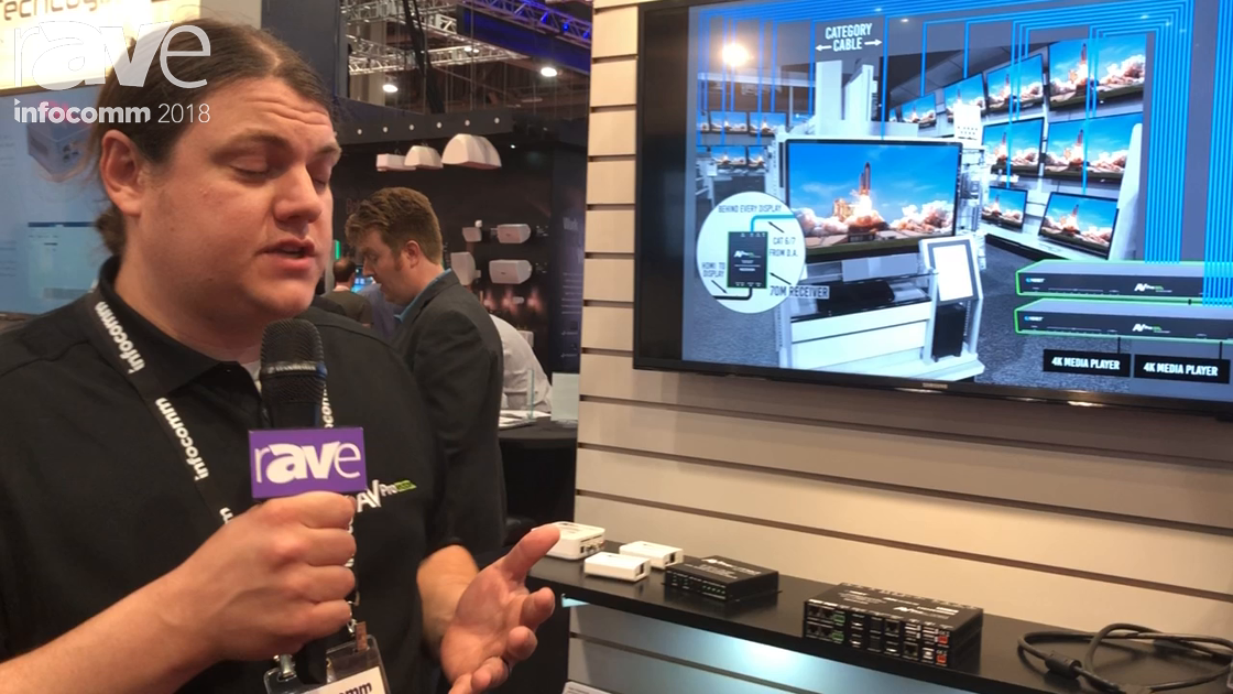 InfoComm 2018: AV Pro Edge Shows 100 Meter HDMI Extender With 18Gbps With HDR or HLG