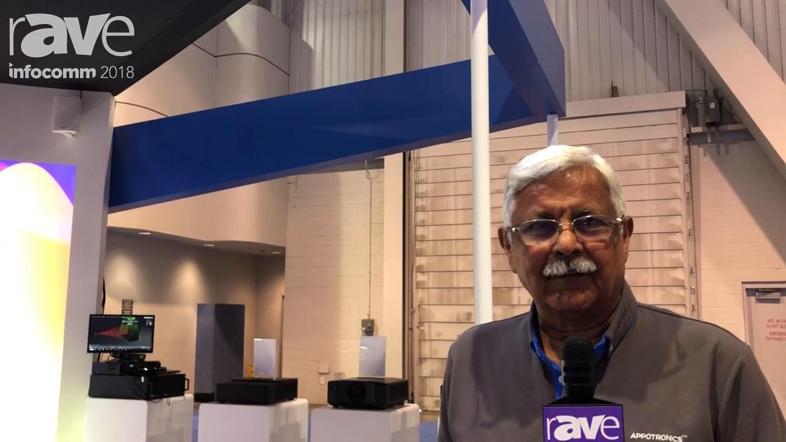InfoComm 2018: Appotronics Showcases 25,000-Lumen Single Chip DLP Projector