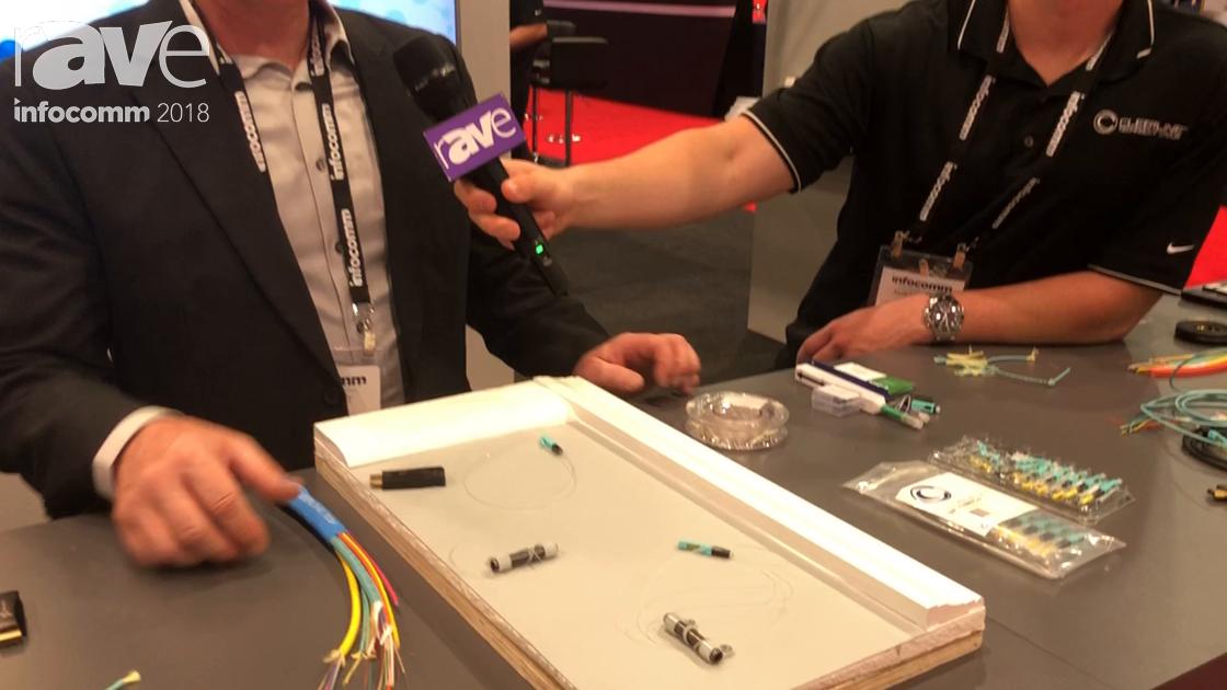 InfoComm 2018: Cleerline Features Its Cleer Fiber, SSF Fiber Cable In Clear Jacket