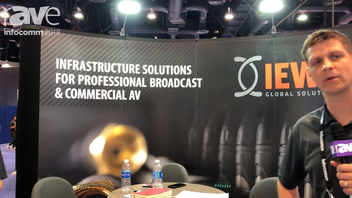 InfoComm 2018: IEWC is an Infrastructure Solutions Distributor for Professional Broadcast and ProAV