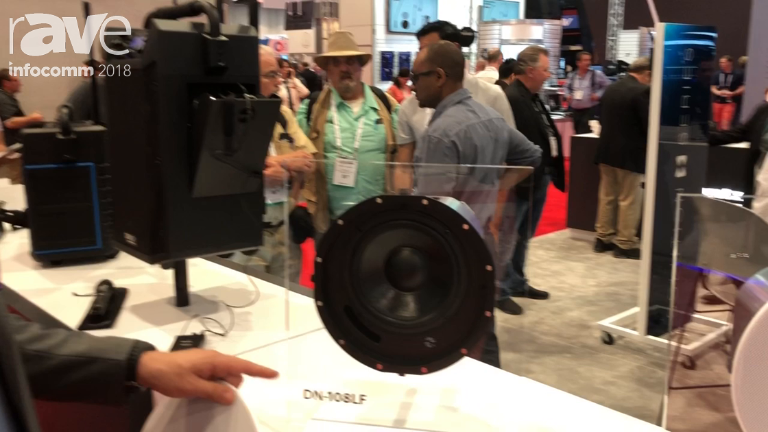 InfoComm 2018: Denon Professional Features the DN-108LF In-Ceiling Subwoofer With 8-inch Woofer