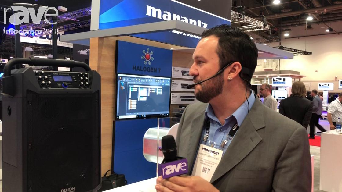 InfoComm 2018: Denon Professional Showcases the Audio Commander Portable PA Kit