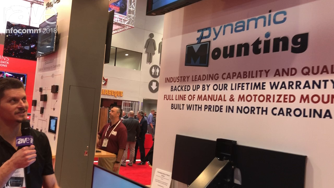 InfoComm 2018: Dynamic Mounting Talks About Its Motorized TV Mounting Solutions