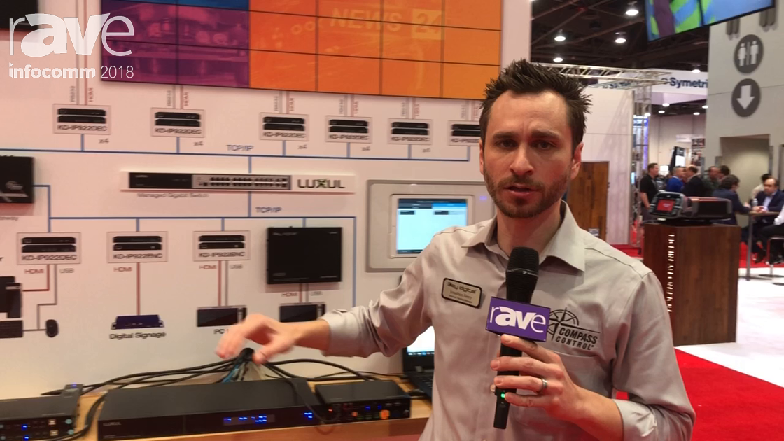 InfoComm 2018: Key Digital Adds the KD-IP22ENC/DEC 4K Video Over IP System