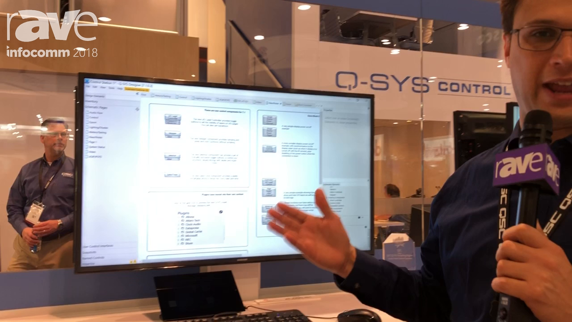 InfoComm 2018: QSC Talks About How Q-SYS Can Control Thrid-Party Devices