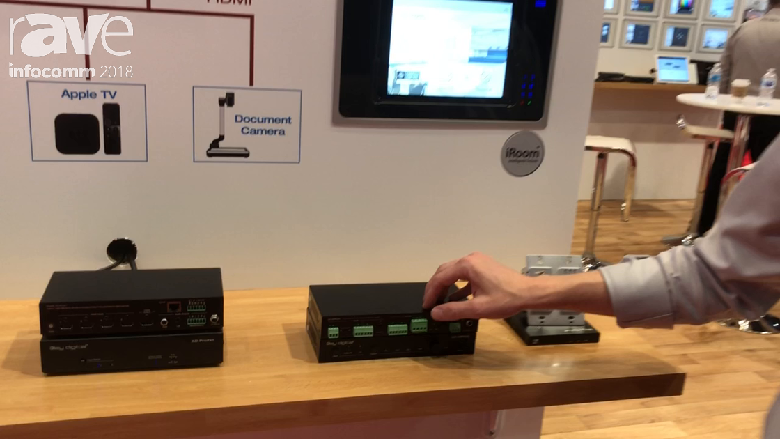 InfoComm 2018: Key Digital Intros the KD-AMP220 Class D Amplifier for Conference Rooms and Classroom