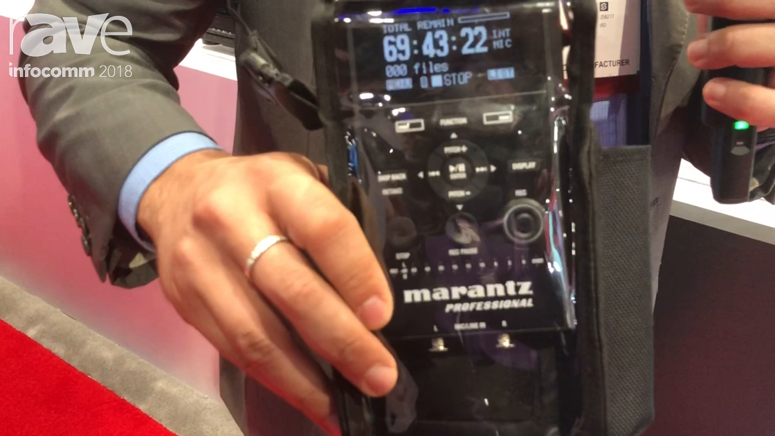 InfoComm 2018: Marantz Professional Highlights the PMD661 Mark III Portable Field Recorder