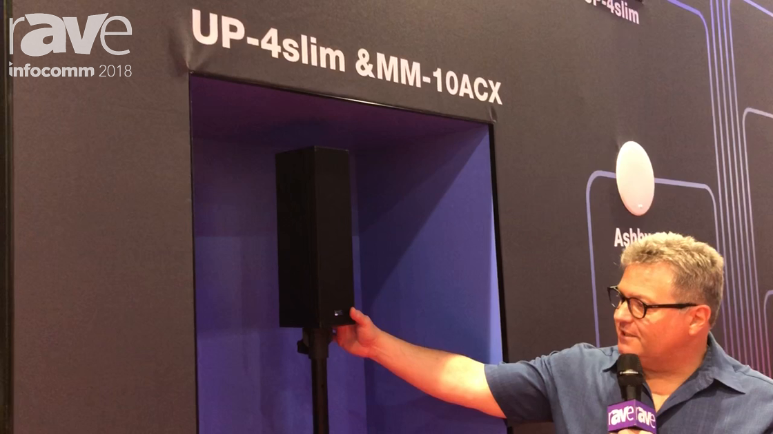InfoComm 2018: Meyer Sound Show the Redesigned UP-4 Slim, an Inconspicuous Loudspeaker