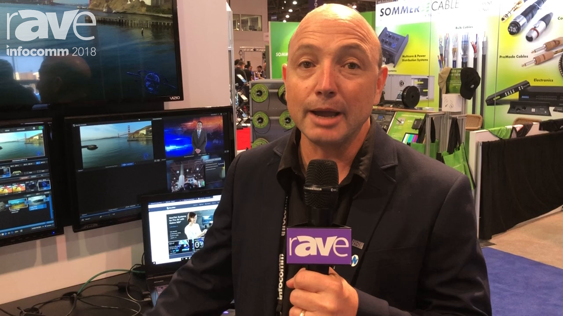 InfoComm 2018: NewTek Features the Tricaster TC1 16-Input System With 4K Production Capabilities