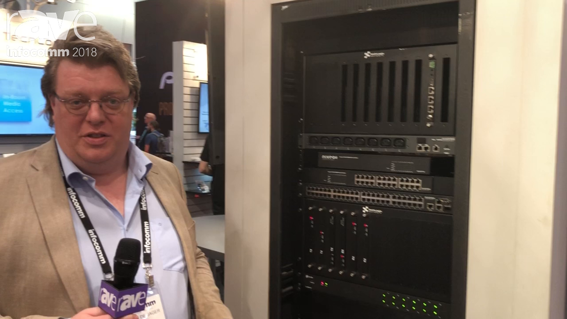 InfoComm 2018: Niveo's Entire Line of Managed Switches Now Approved to Work With QSC Q-LAN Network