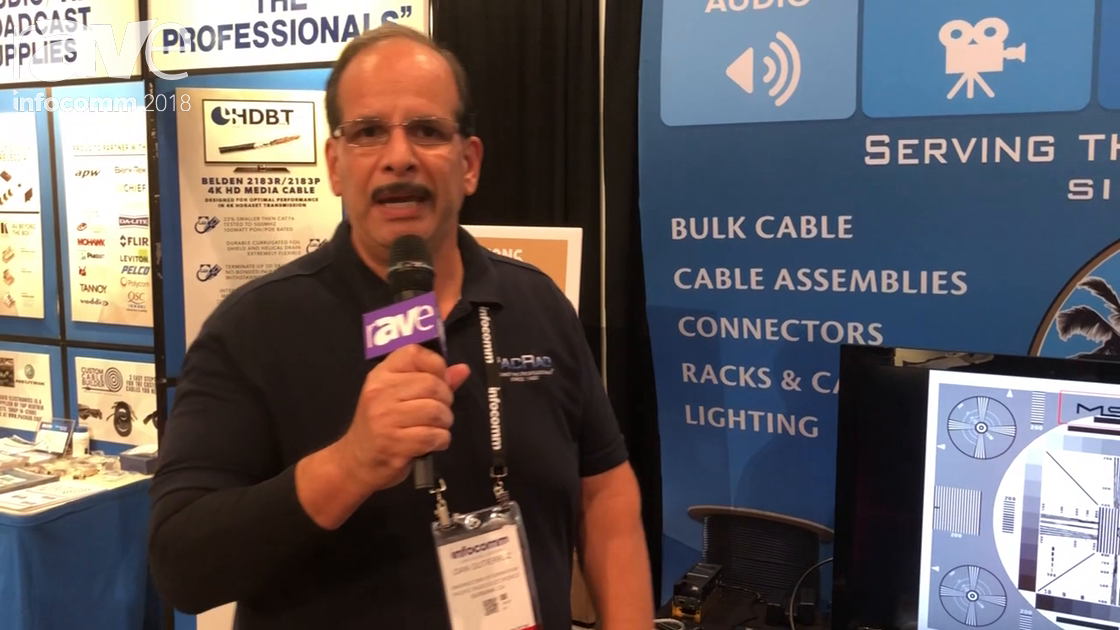 InfoComm 2018: Pacific Radio Showcase the MS-Test Pro HDBaseT Solutions Tester