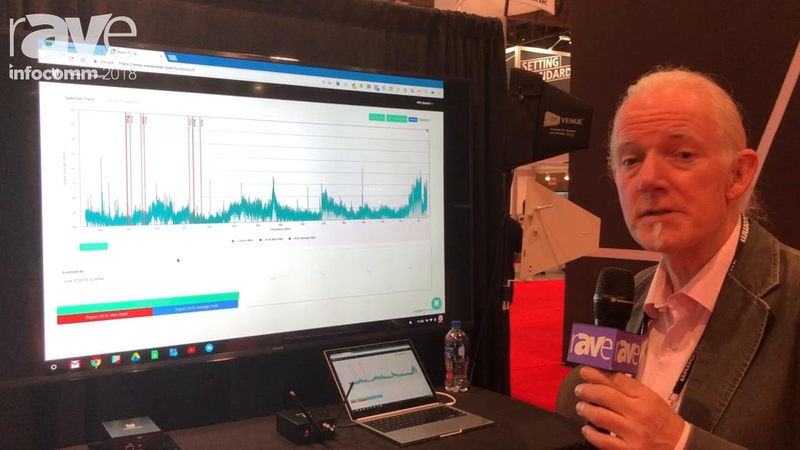InfoComm 2018: RF Venue Intros the Wavetower Remote Scanner