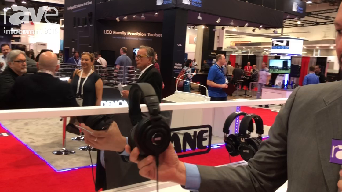 InfoComm 2018: Rane Corporation Unveils the Commercial RH2 Isolating Headphone Set