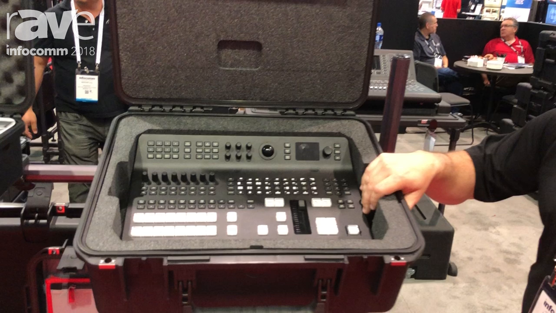 InfoComm 2018: SKB Corporation Highlights Injection Molded Custom Case for Blackmagic TV Switcher