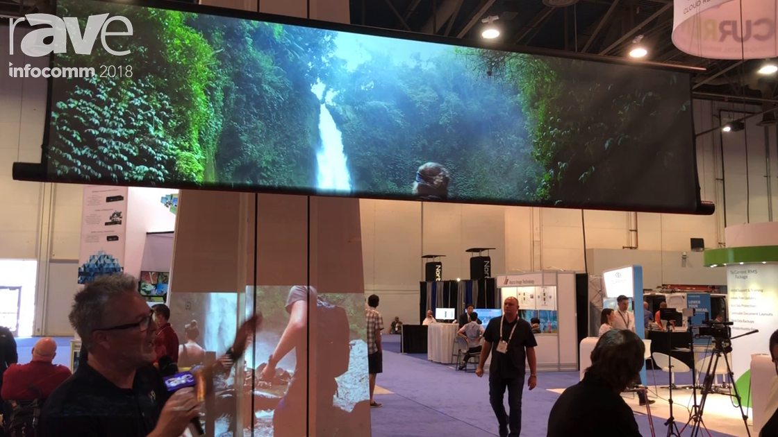 InfoComm 2018: Screen Innovations Shows off the Zero-G Long Drop – Drops Screen Up to 16 Feet