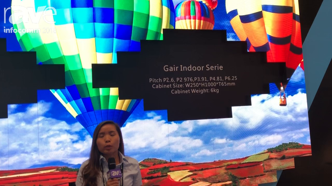 InfoComm 2018: GCL Announces Gair Indoor Serie P2.6 Indoor LED Display