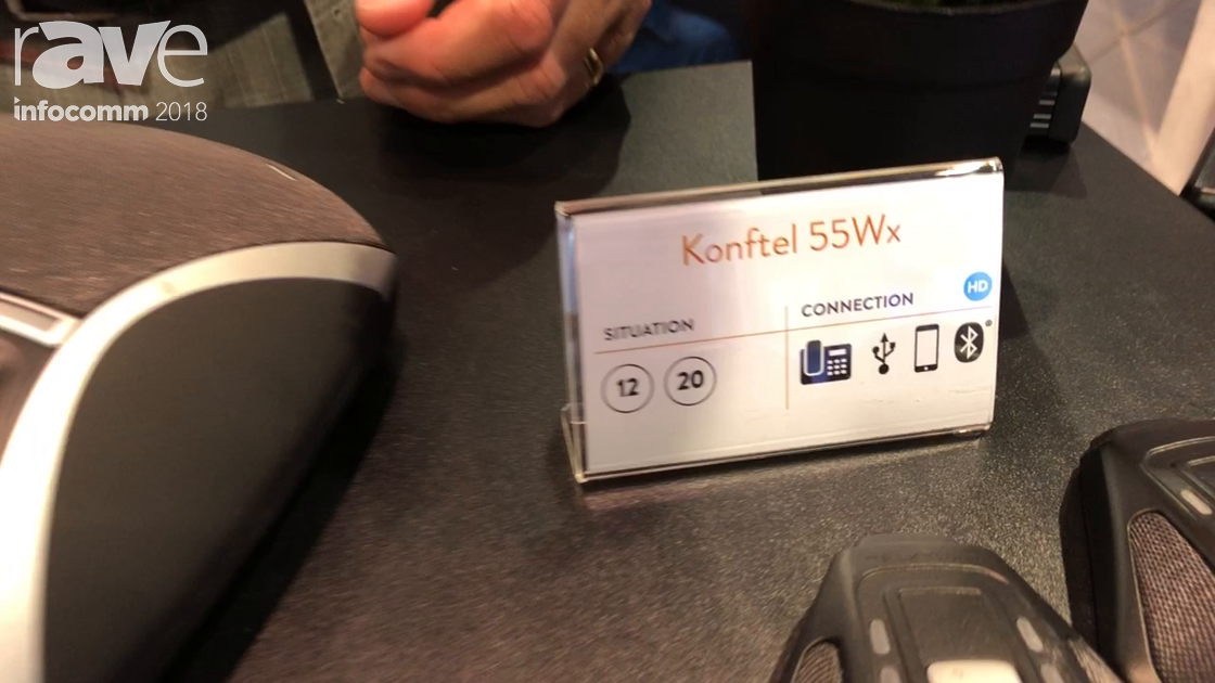 InfoComm 2018: Konftel Talks 55Wx for Huddle Rooms