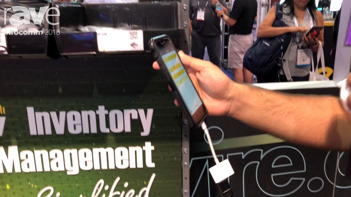 InfoComm 2018: Windy City Wire Demos Its Mobile App and QR Code Bin Labels for Inventory Management