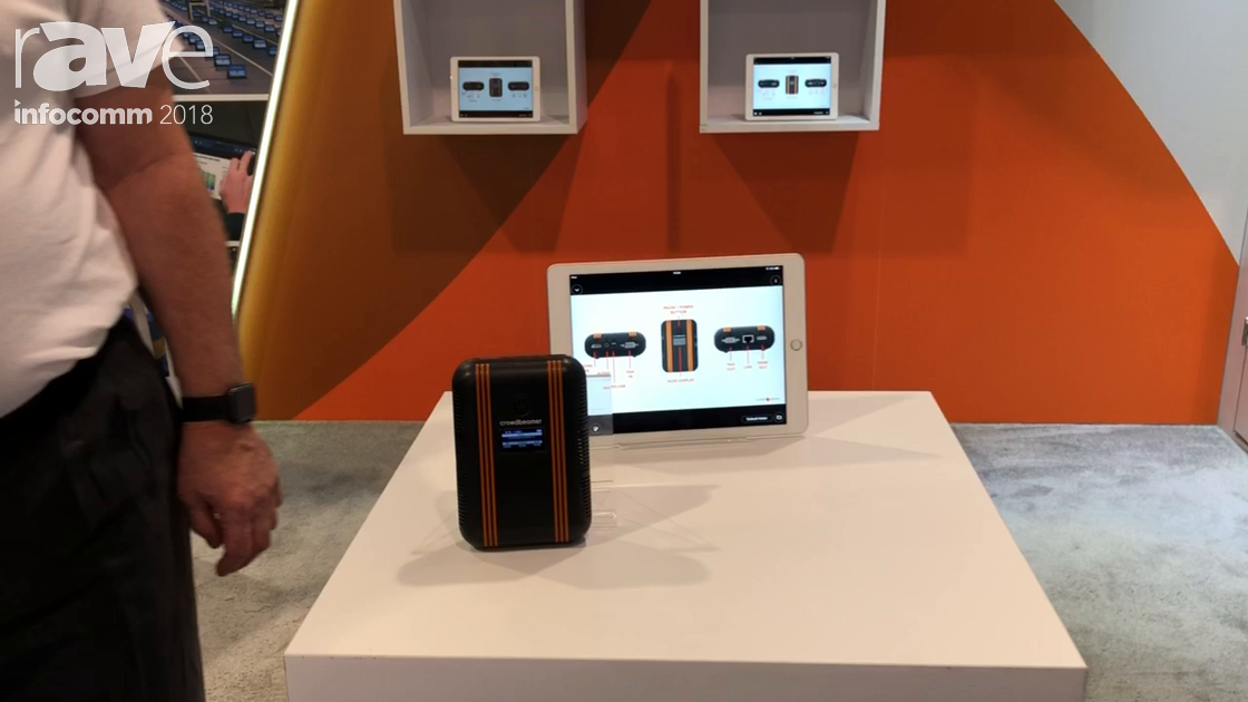 InfoComm 2018: Crowdbeamer Shows Crowdbeamer Enterprise One to Many Presentation Streamer