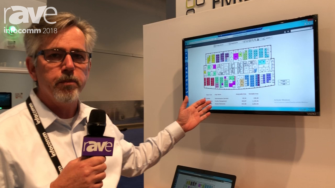 InfoComm 2018: FM Systems Features the Book Me Room Booking System in the Qbic Technology Booth