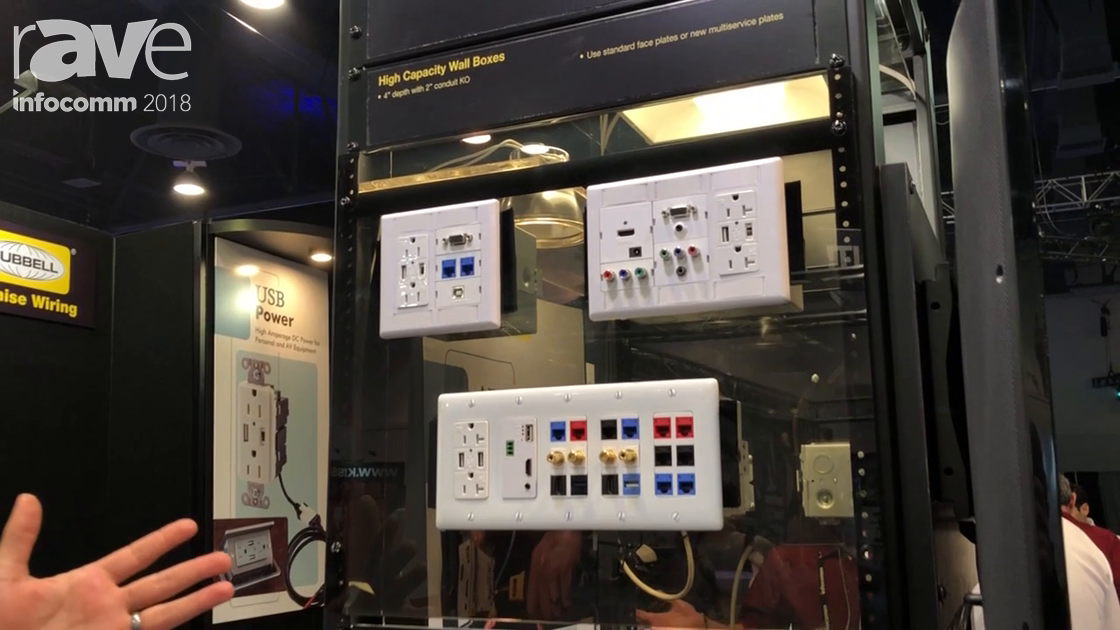 InfoComm 2018: Hubbell Highlights Its On Wall Connection Delivery Solutions