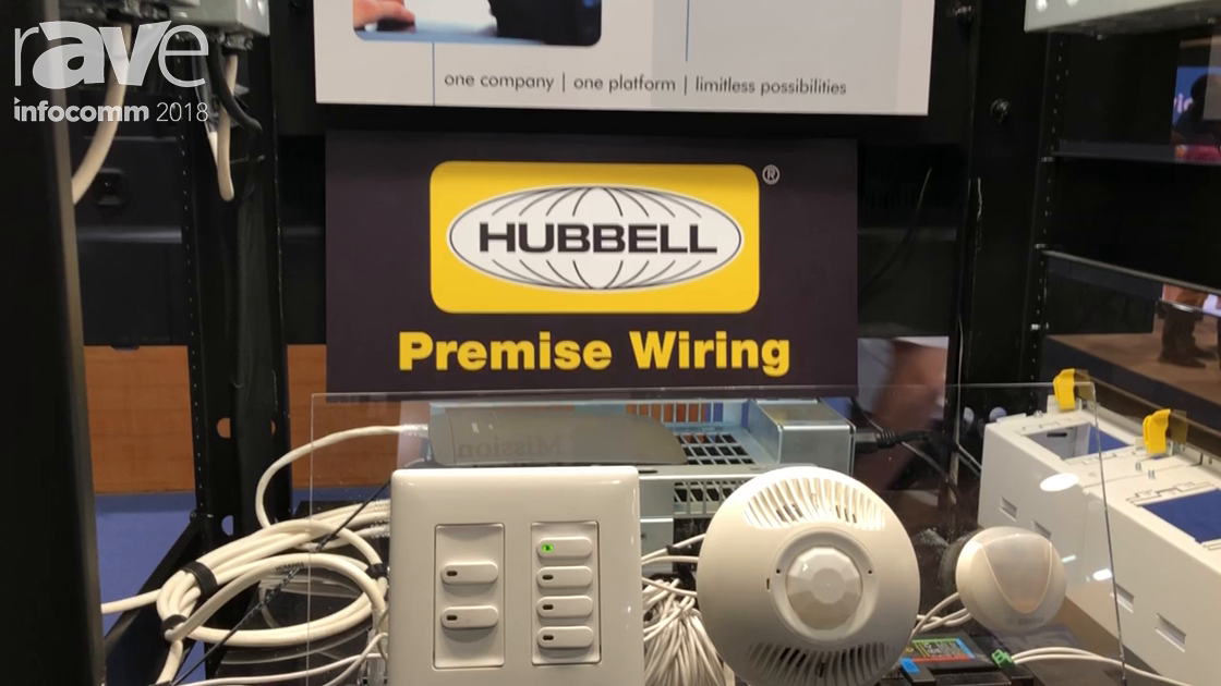 InfoComm 2018: Hubbell Intros the PowerHUBB PoE Lighting and Control Solution