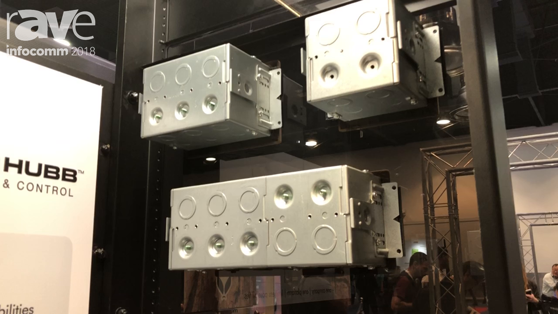 InfoComm 2018: Hubbell Shows Its High Capacity Wall Boxes