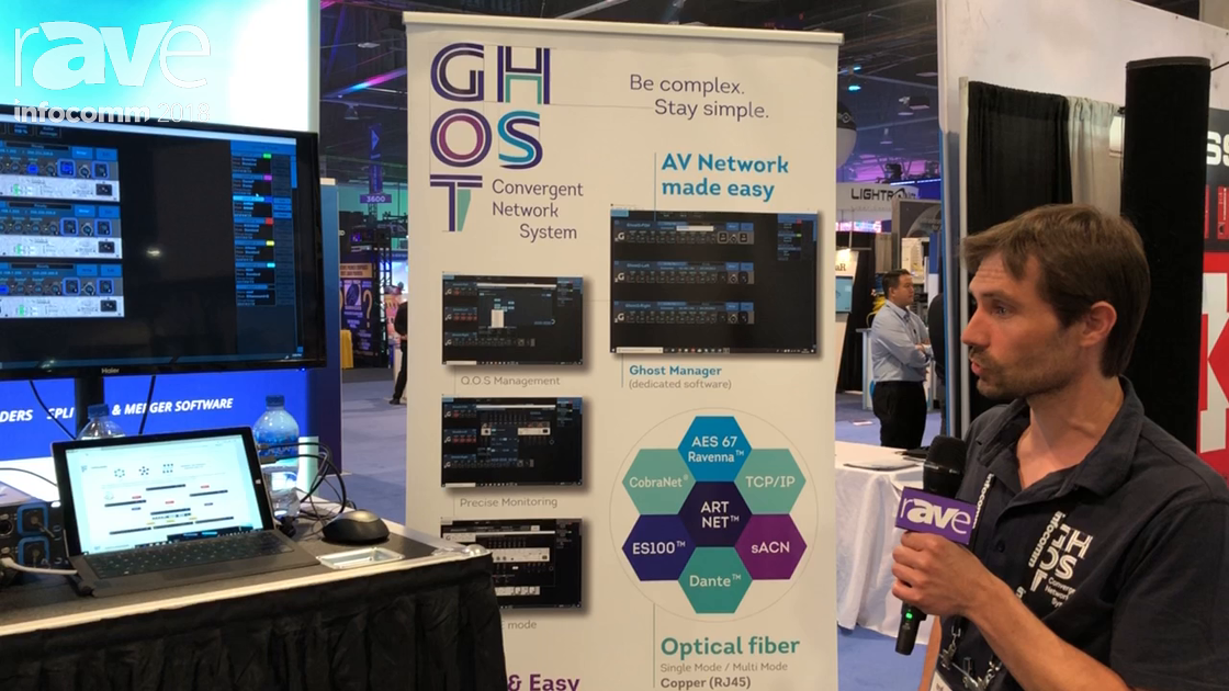InfoComm 2018: JAC Distribution Shows Ghost Convergent Network Systems