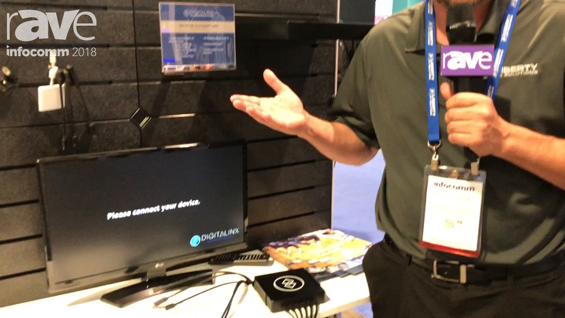 InfoComm 2018: Liberty AV Features Its Digitalinx Bring Your Own Device Hub