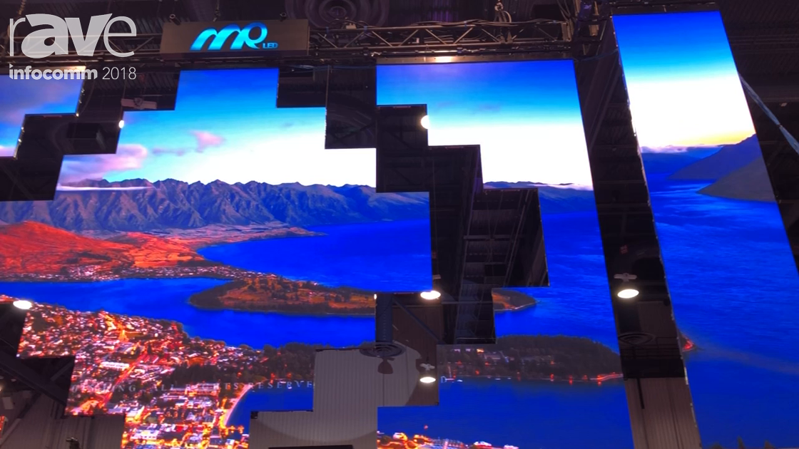 InfoComm 2018: MrLED Shows Spider Series LED Video Wall for Fixed Installations