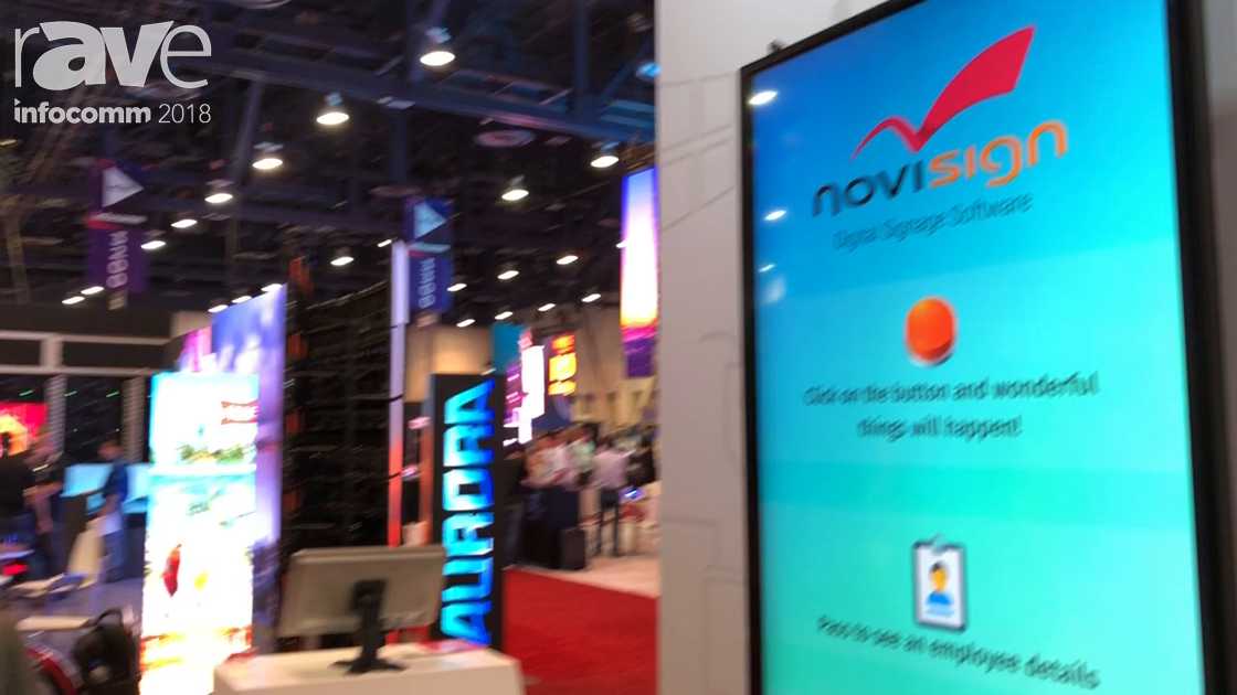 InfoComm 2018: NoviSign Demos RFID Technology for Corporate Communications