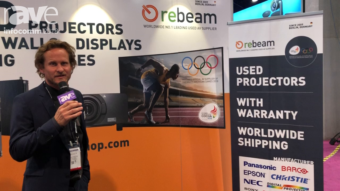InfoComm 2018: Rebeam Shows Refurbished Projectors from Major Manufacturers