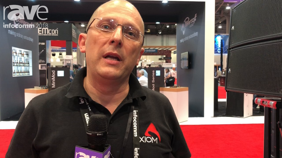 InfoComm 2018: AXIOMTEK Shows the AX6C Passive Column Array Speaker